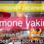 Introduction of Japanese food 🇯🇵[Hormone yakiniku]