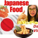 JAPANESE FOOD | Dinner | Daily Vlog | VLOG NO. 11