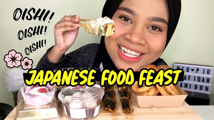JAPANESE FOOD FEAST | Eating Show MALAYSIA