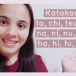 JAPANESE LESSONS FOR FILIPINOS 10| KATAKANA 2- TA, NA, HA GYOU| MAYA NAMIBE