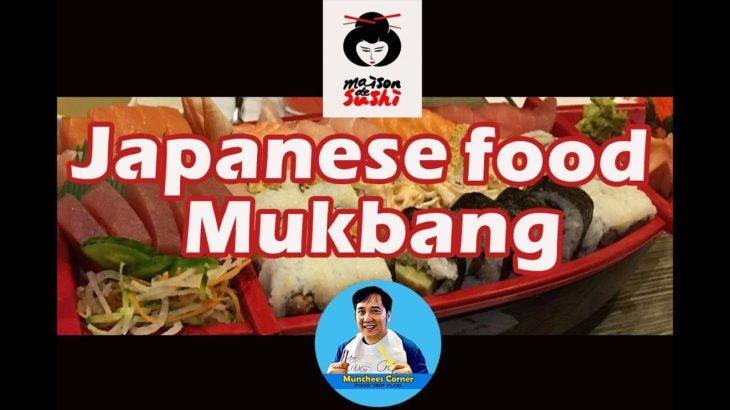 Japanese Food Mukbang @ Maison