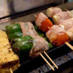 Japanese Street Food 🍢Barbecue Street Food Shinjuku (2019)🍗鳥を焼く やきとり 思出橫丁美食街 BBQ