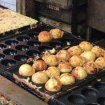 Japanese Street Food TAKOYAKI [Minatoya] recipe HowTo Ueno Tokyo Japan