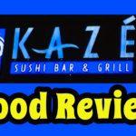 KAZE Sushi Bar & Grill Japanese Restaurant Food Review | Salt Lake City, Utah