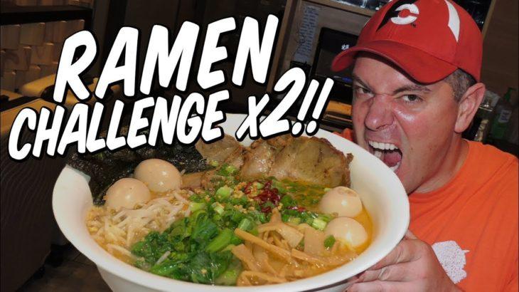 Kizuki Japanese Ramen Noodles Challenge DOUBLED!!