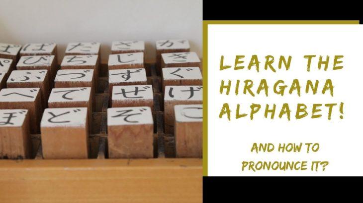 LEARN A JAPANESE ALPHABET TODAY!   Japanese Hiragana Alphabet   POSTCARDS 2 TEXAS