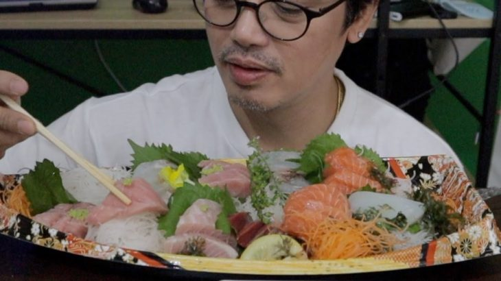 SHASHIMI |MAHILIG SA HILAW NA ISDA!|JAPANESE FOOD|RAW FISH