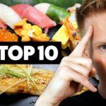 TOP 10 Must-Eat Japanese Foods in Tokyo