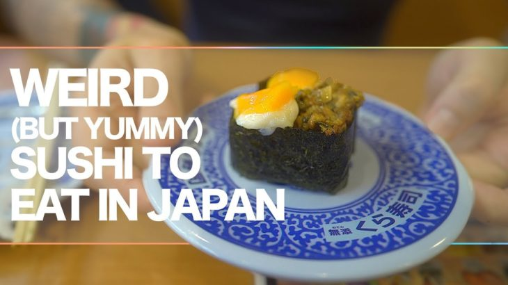 The Strange Japanese Sushi You Should Try