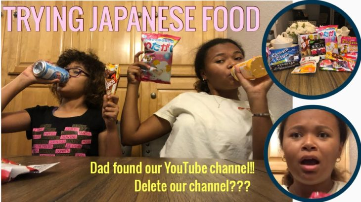 Trying Japanese Food + Snacks