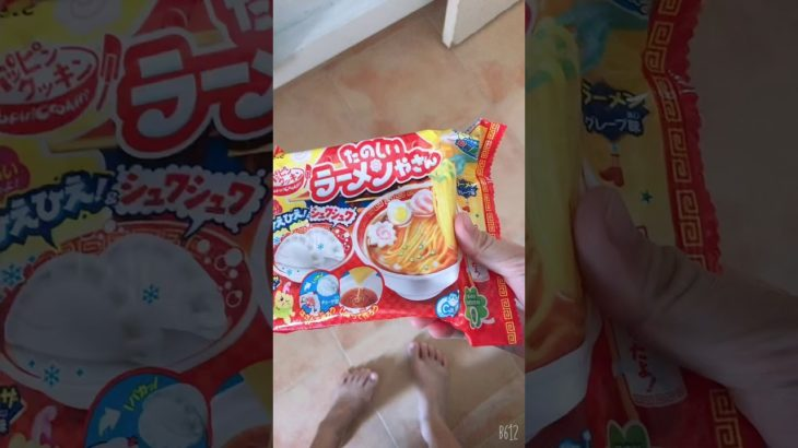 Trying a Japanese Ramen candy kit