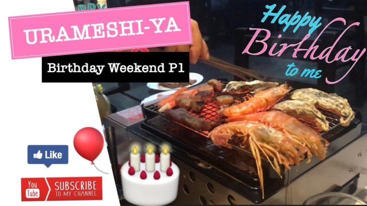 URAMESHI-YA Japanese Restaurant   Birthday Day Weekend Part 1