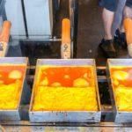 japanese street food – TAMAGOYAKI japanese omelette