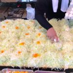 japanese street food – okonomiyaki