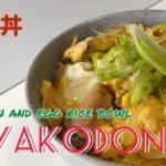 Easy Japanese Food Recipe 【OYAKODON】