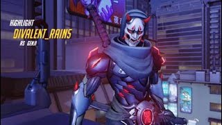 JAPANESE ROBOT BEATS UP PEOPLE USING CRAZY ANIME MOVES | Overwatch