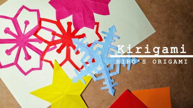 Kirigami Japanese Paper Art🌸【HIRO'S ORIGAMI ~Japanese High Schoolers~】