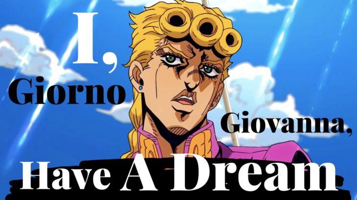 Learn Japanese With Anime   I, Giorno Giovanna, Have A Dream