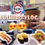 SUSHIRO|| Dinner at Japanese food restaurant ||Husband&wifey||