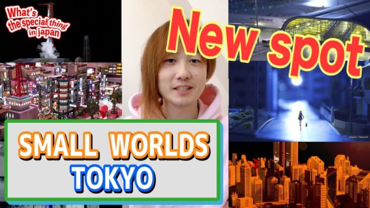 【Year 2020】Absolutely it's gonna be popular! Japanese new tourist facility 「SMALL WORLDS TOKYO」