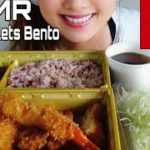 【ASMR】Japanese Food【Bento】Cutlets TONKATSU Eating Sounds Mukbang [咀嚼音][浜勝]Blue Yeti Kiyoka ASMR
