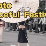 "Kyoto festival traditional Japanese costumes ""Jidai-mathuri""  Part 1"