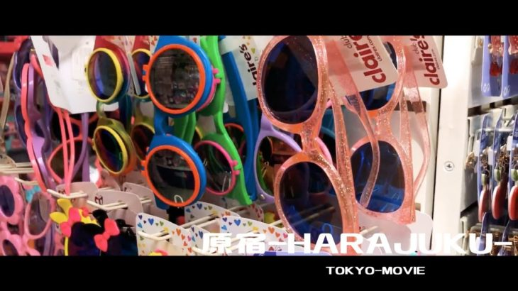 "【TOKYO-MOVIE】""Japanese pop culture"" HARAJUKU in the street"