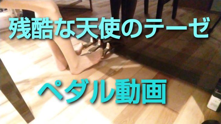 残酷な天使のテーゼ ピアノ ペダル piano pedal evangerion anime japanese girl plays the piano