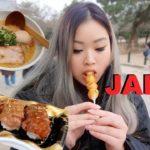 7/11 JAPANESE FOOD   RAMEN   SUSHI TOKYO JAPAN VLOG PT.2