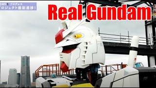 Japan Builds A Real Life Gundam In Yokohama Tokyo #gundam #anime