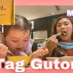 Japanese Food Mukbang with Daughter Nikki || Tag gutom at lot 10