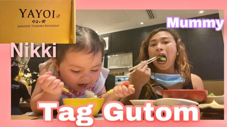 Japanese Food Mukbang with Daughter Nikki || Tag gutom at lot 10