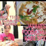 MUKBANG; JAPANESE FOOD.KIMUCHI NABE SPICY…