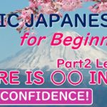 There is/arimasu/aru-Amazing Sights!Basic Japanese for Beginners Part2 Lesson1 locationにobjectがあります。