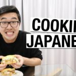 VLOG! Filming BTS & Cooking our fave Japanese food