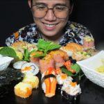 ASMR Sushi Feast│Japanese Food│MUKBANG 묵방 穆邦│BoyaPm700│No TALKING