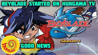 Beyblade Back on HUNGAMA TV || Miraculous Ladybug On HUNGAMA || Indian Anime News #7