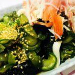 Japanese cucumber salad 🥗/sunomono/Japanese food 🥘/สลัดแตงกวาญี่ปุ่น