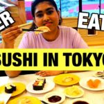 Japanese food sushi | How to order , eat Sushi  | Indian sushi | चलो सुशी खाने चले | Food In Japan