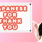 Learn Japanese For Thank You | Three Different Ways