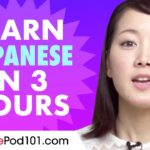 Learn Japanese in 3 hours – ALL the Japanese Basics You Need in 2020