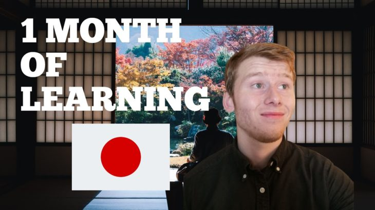 Learning Japanese by myself