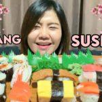 MUKBANG SUSHI BERBAGAI VARIAN    JAPANESE FOOD MUKBANG