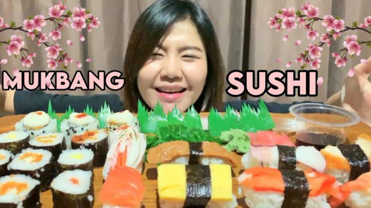 MUKBANG SUSHI BERBAGAI VARIAN || JAPANESE FOOD MUKBANG