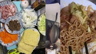 Pinasarap na luto ng yakisoba Japanese food