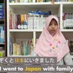 Reiko learning Japanese with Hikari Bridge