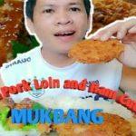 Sangen Pork Loin and Ham Cutlet || Japanese Food || MUKBANG