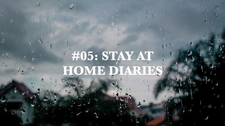 #05: STAY AT HOME DIARIES ✨ | japanese food 🍣🍱, baking hokkaido egg tarts 🥧 & homemade granola 🥣