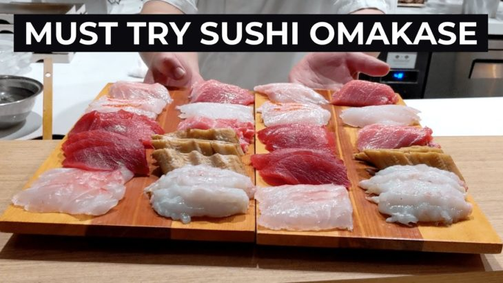 Amazing Japanese Sushi Omakase Experience at KUON | POV Reaction | Sydney Food Blog Vlog Tour Review