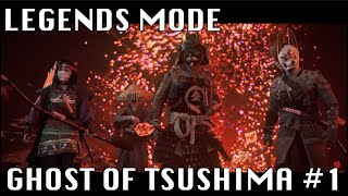 Japanese Play and Reacts to LEGENDS Mode #1【Ghost Of Tsushima】